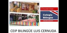 CEIP BILINGUE LUIS CERNUDA PRESENTATION