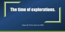 Clase de Geografía e Historia (3º ESO A - IES Las Rozas I - 16/03/2020)