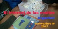 """#cervanbot IV: """"El internet de las cositas"""" con Arganbot (grabaciones realizas por alumn@s)"""