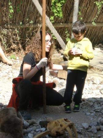 Infantil 4 años en Arqueopinto 2ª parte 30