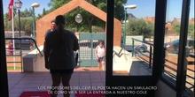 SIMULACRO DE ENTRADA CEIP EL POETA. Serranillos del Valle