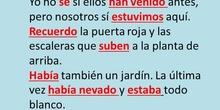 ANÁLISIS DE VERBOS (TEXTO 1)