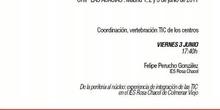 De la periferia al núcleo: experiencia de integración de las TIC en el IES Rosa Chacel de Colmenar Viejo