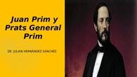 Juan Prim y Prats General Prim