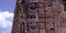 Máscaras de Chac en el Cuadrángulo de las Monjas, Uxmal, México