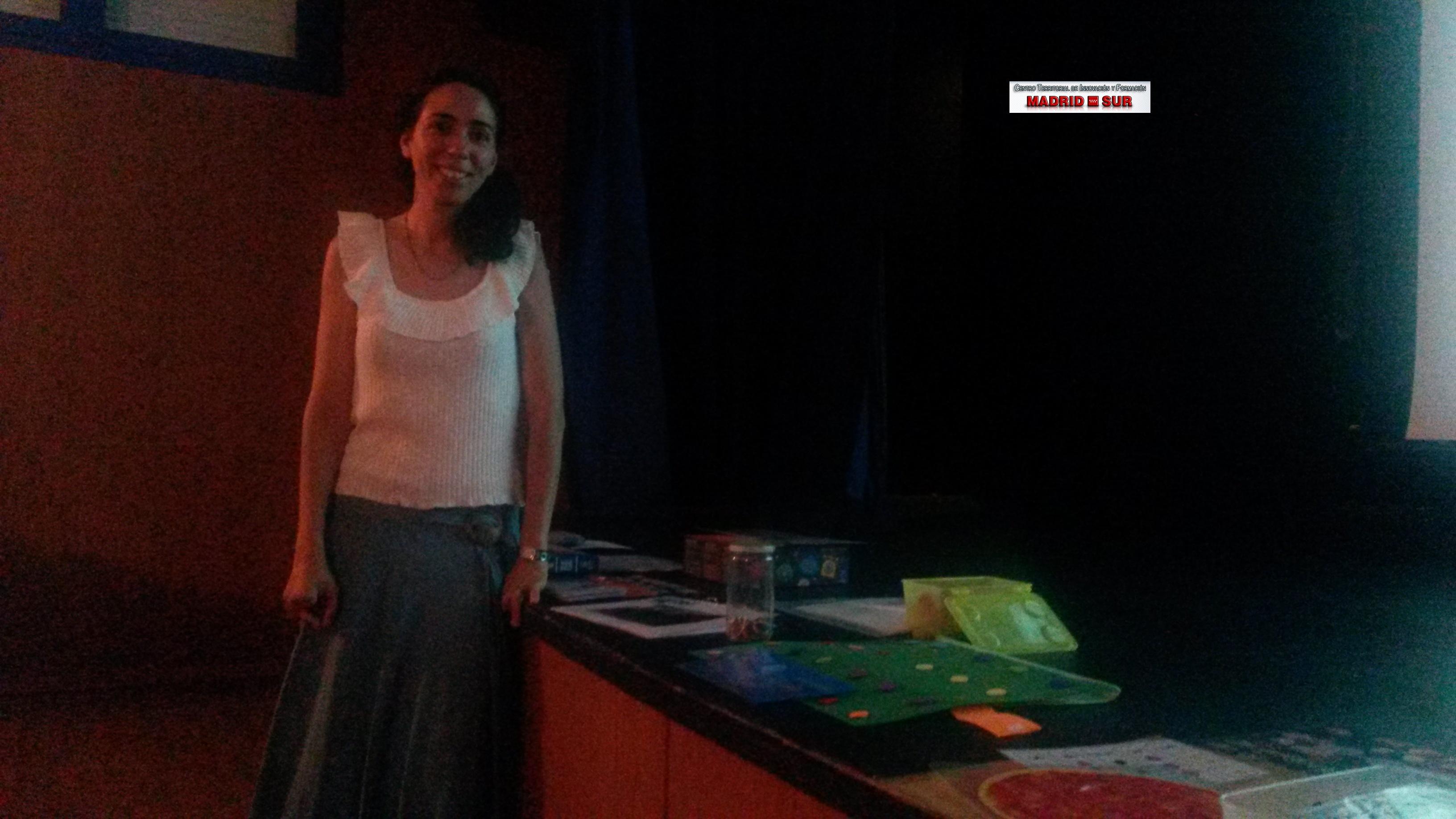 Ponencia de Dña. Rocío Domínguez Hernández