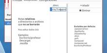 """Posible """"error"""" al añadir excepciones en el perfil """"Alumno"""""""