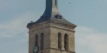 Torre de iglesia en Torrejón de Ardoz