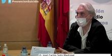 Prevención del suicidio en los centros educativos: D. José Carlos Soto Madrigal