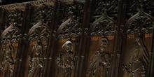 Detalle sillería del coro, Catedral de León, Castilla y León