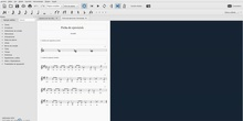 Edición de partituras con MuseScore - Integrar música y texto - Ficha de ejercicios