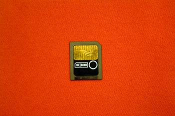 Tarjeta de memoria Smart media