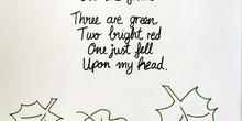 English Autumn poem