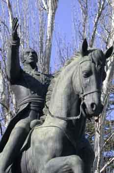 Retrato escuestre de Simón Bolívar