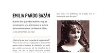 Entrevista a Emilia Pardo Bazán