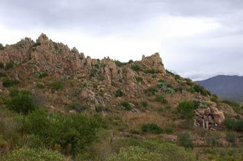 Yacimiento de minería romana