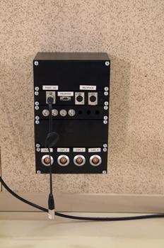 Conexiones para cámaras de plató