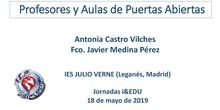 IES JULIO VERNE. PROFESORES Y AULAS DE PUERTAS ABIERTAS
