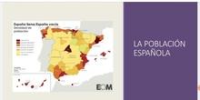 Fuentes y evolución de la población española