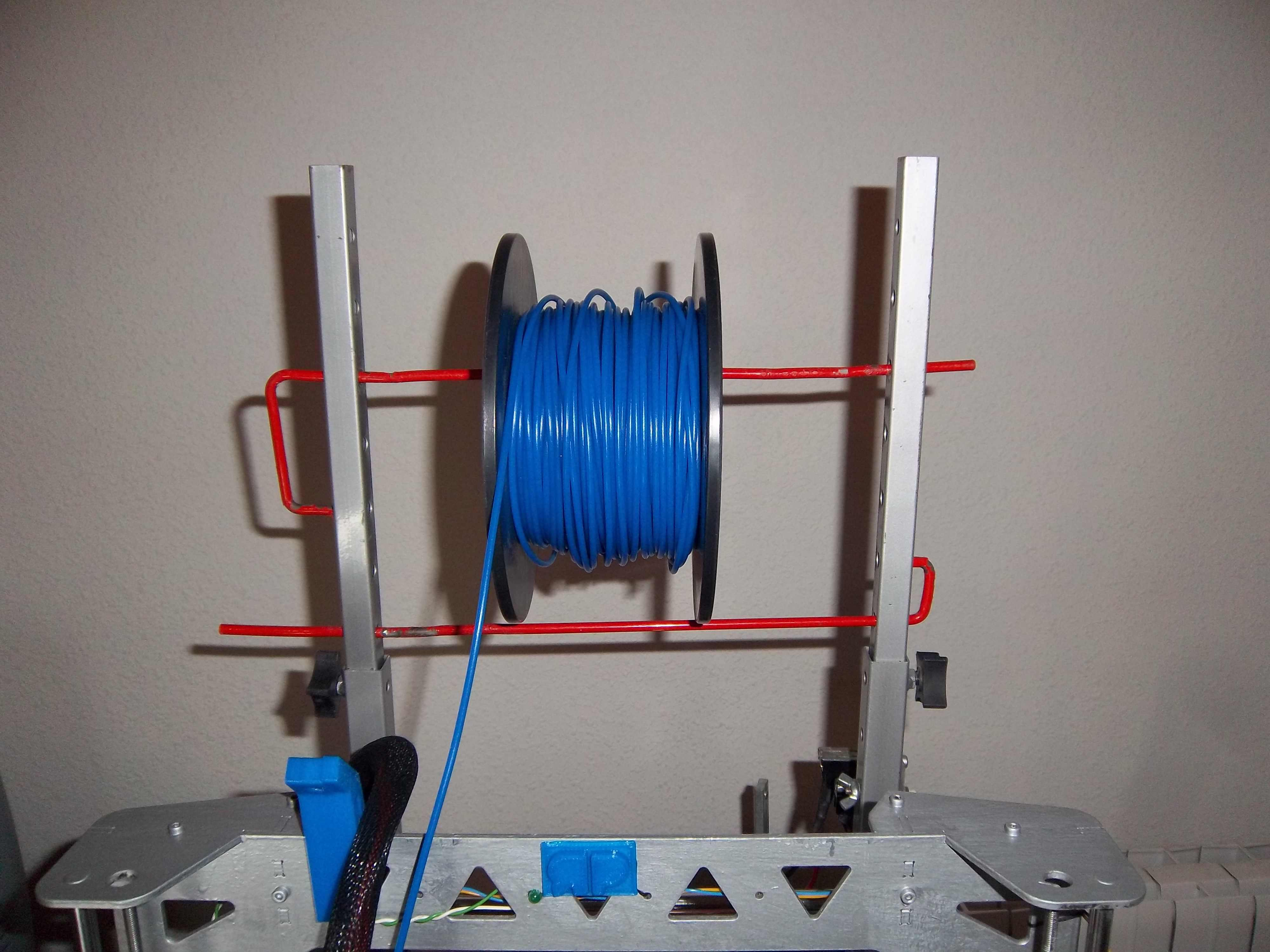 Soporte bobina de cable para impresora 3D