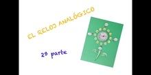 PRIMARIA -  2º - EL RELOJ ANALÓGICO 2ª PARTE - MATEMÁTICAS - FORMACIÓN