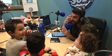 Recogemos el premio en Radio Sol XXI 4