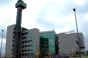 Edificio de Telemadrid, Ciudad de la Imagen, Madrid