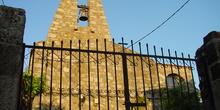 Vista de campanario de iglesia en Rozas de Puerto Real