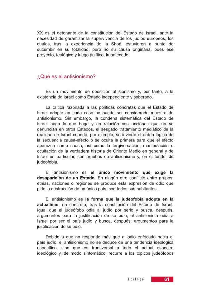 Página 61 de la Guía didáctica de la Shoá