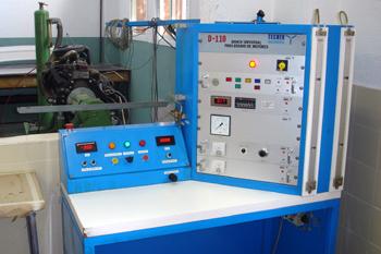 Banco de potencia de motores. Consola de control