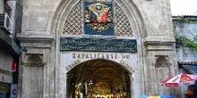 Entrada del Gran Bazar, Estambul, Turquía