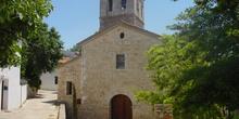 Vista de la parroquia de San Pedro de Olmeda de las Fuentes