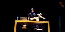 El robot NAO haciendo taichi