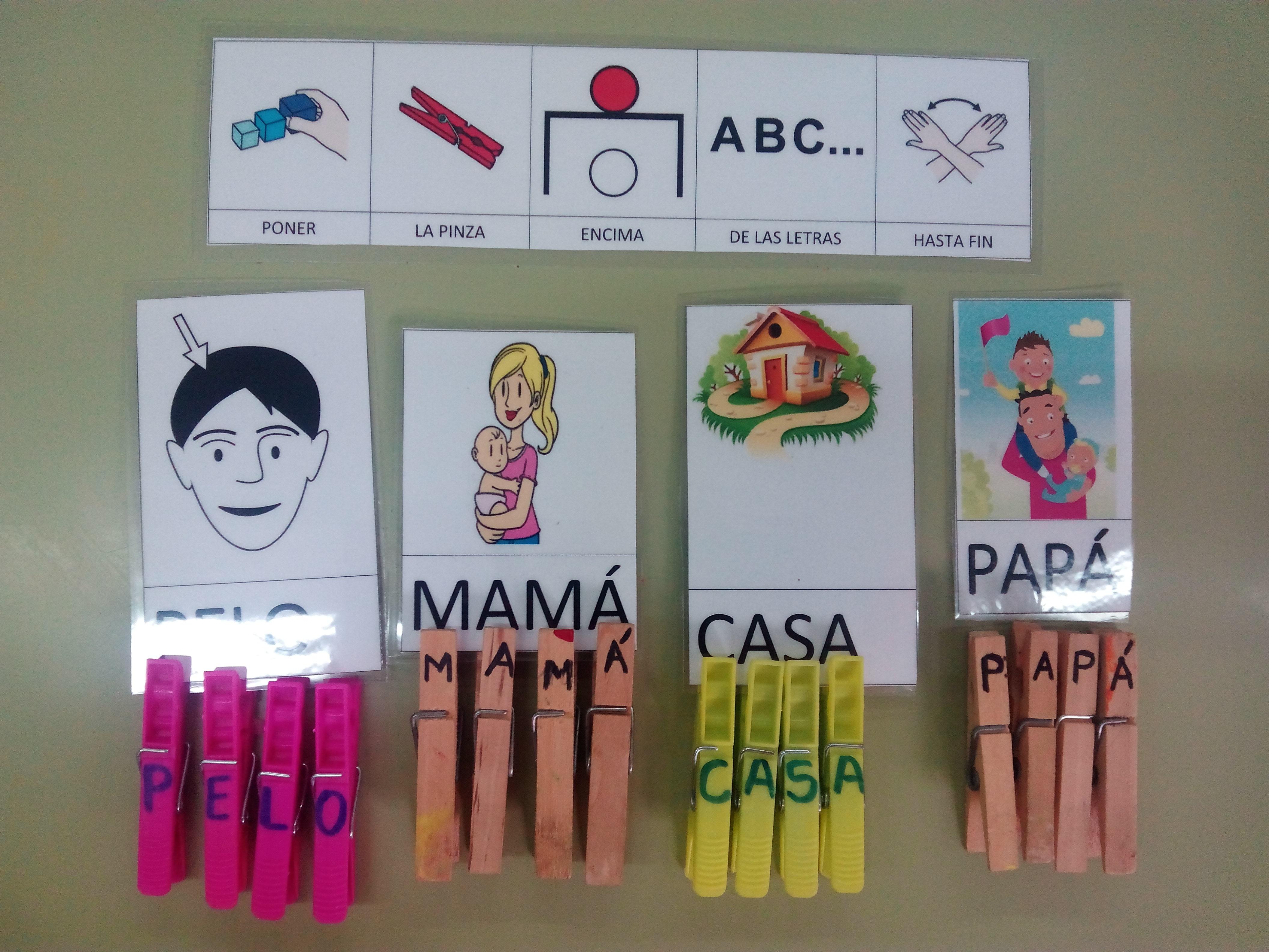 Seminario:material manipulativo para infantil y primaria adaptado a alumnos con T.E.A. 28