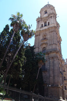 Torre de la Catedral de Málaga, Andalucía