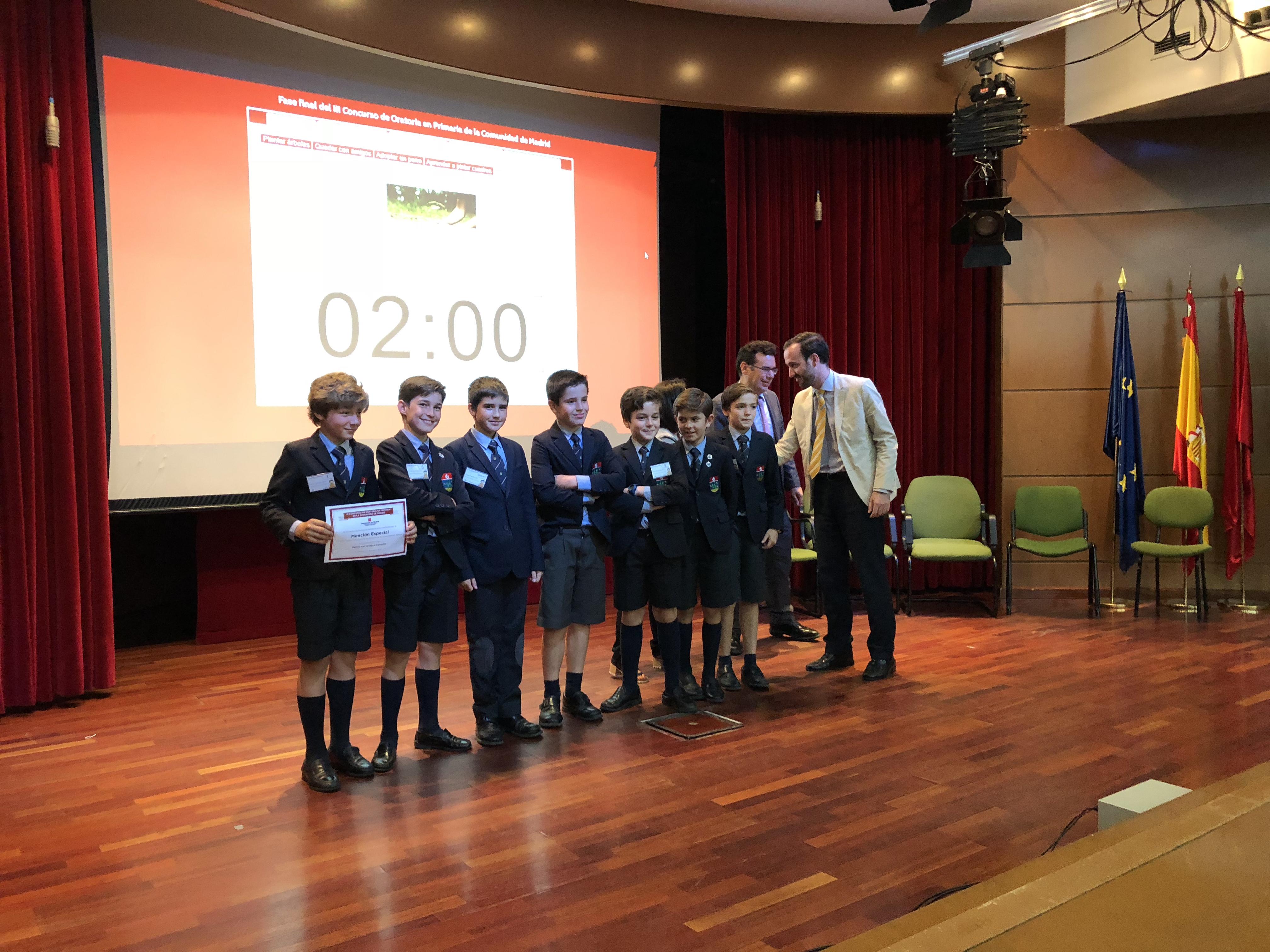 Fase final del III Concurso de Oratoria en Primaria de la Comunidad de Madrid 13