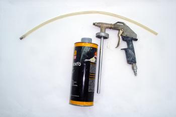 Pistola de aplicación de ceras de cavidades