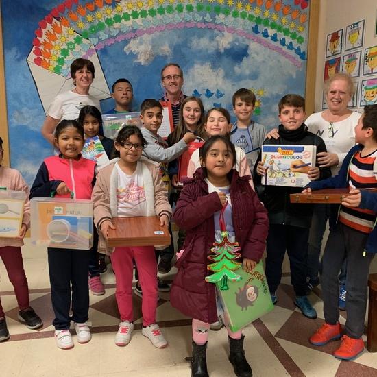Ganadores del concurso de árboles de Navidad