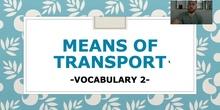 Unit 6: Vocabulary about transport