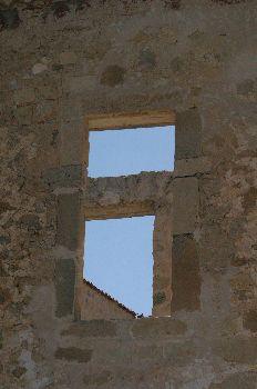 Ventana de piedra, Ermita de San Frutos, Hoces del Duratón, Sego