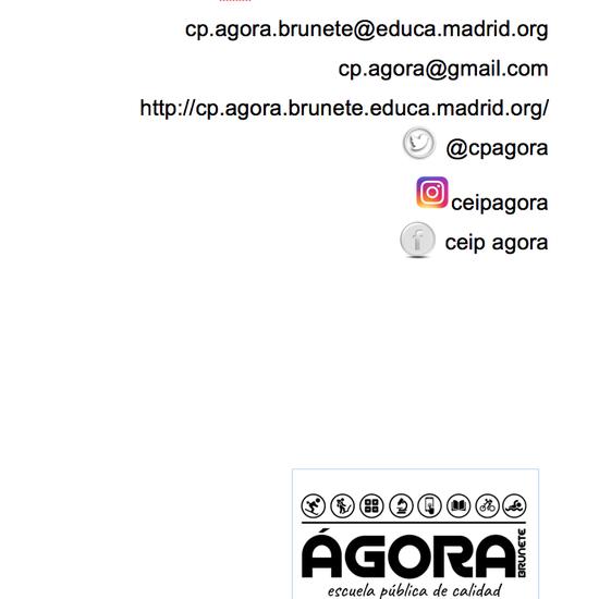 Normas de convivencia Ceip Ágora Brunete 1