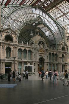 Estación Central de Amberes, Bélgica