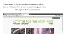 """Activities for the unit: """"The atom"""""""