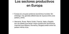 5º sociales sectores productivos en Europa