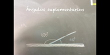 PRIMARIA - 5º - ÁNGULOS SUPLEMENTARIOS - MATEMÁTICAS - FORMACIÓN
