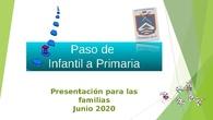Paso de infantil a Primaria junio 2020