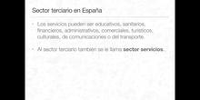 5º sociales el sector terciario en España