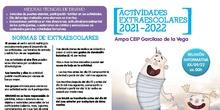 Actividades Extraescolares 20020/21