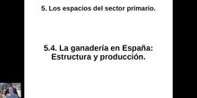 0504 Estructura y producción ganadera en España