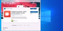 Gabar pantalla ordenador con Windows